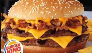 Burger King Menü Preisliste
