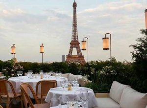 eating out in Paris!